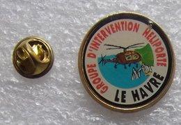 GROUPE D'INTERVENTION HELIPORTE LE HAVRE ETRETAT PORTE AVAL AIGUILLE CREUSE   CCCC  154 - Transportation
