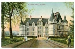 CPA 37 Indre Et Loire Azay-le-Rideau Le Château  Animé - Azay-le-Rideau