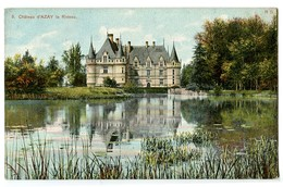 CPA 37 Indre Et Loire Château D'Azay-le-Rideau - Azay-le-Rideau