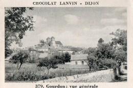 Fiches Illustrées > Non Classés Chocolat Lanvin Gourdon Série 3 N° 379 - Ohne Zuordnung
