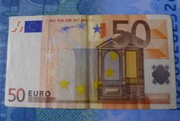 50 EURO X GERMANY DUISENBERG SERIE R002F5 Circulated - EURO