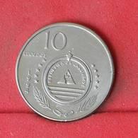 CAPE VERDE 10 ESCUDOS 1994 -    KM# 31 - (Nº22948) - Cape Verde