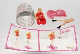 Barbie Fashionistas Variante England 2014: TR134A + Bpz - Monoblocs