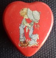 M#0U44 SCATOLA IN LATTA CUORE SARAH KAY VINTAGE Valentine Australia - Scatole