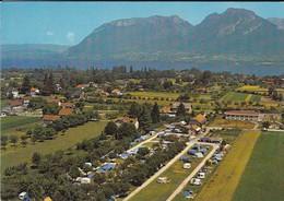 """74----SAINT-JORIOZ--LAC D'ANNECY--camping  """" LE TRANQUILLE """"--( Tentes Caravanes )--voir 2 Scans - France"""