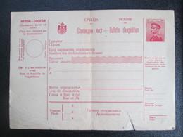 Bulletin D Expedition  Serbe - Serbie