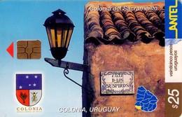TARJETA TELEFONICA DE URUGUAY. 237a (COLONIA DEL SACRAMENTO) (270) - Uruguay