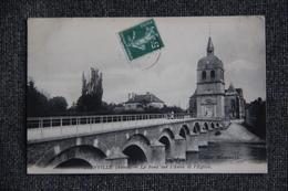 DIENVILLE - Le Pont Sur L'AUBE Et L'Eglise - Autres Communes