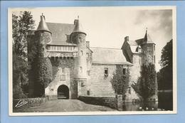 Campénéac (56) Château De Trécesson Architecture Féodale Du XVe S. 2 Scans (légende Fiancée Enterrée Vivante) - Autres Communes