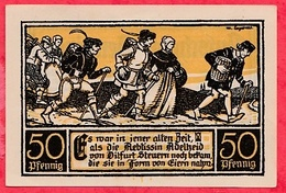 Allemagne 1 Notgeld 50 Pfenning Ditfurt Lot N °1699 (RARE)  Dans L' état - [ 3] 1918-1933 : Weimar Republic