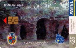 TARJETA TELEFONICA DE URUGUAY. 354a (GRUTAS DEL PALACIO) (271) - Uruguay