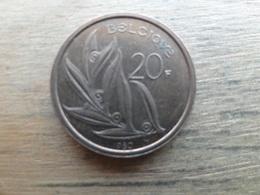 Belgique  20  Francs  Fr  1980  Km 159 - 07. 20 Francs