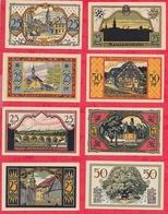 15 Notgeld Zeulenroda En UNC (SERIE COMPLETE) - [ 3] 1918-1933 : Weimar Republic