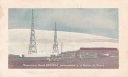 OBSERVATORIO NAVAL ORCADAS. ANTARTIDA ARGENTINA OBLIT. QSL RADIO HAM.-BLEUP - Radio-amateur