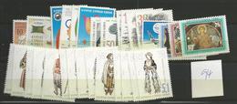 1994 MNH Cyprus, Year Complete, Postfris - Zypern (Republik)