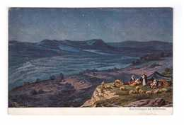 Palestine Illustration Das Hirtenfeld Bei Bethlehem Pastoral Berger Moutons - Palestine