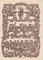 ALLEMAGNE 1935 TELEGRAMM/TELEGRAMME/TELEGRAM CIRCULE  DE NÜRNBERG THEME CHEVAL  COR CAROSSE - Briefe U. Dokumente