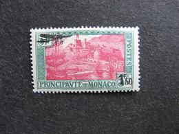 A). Monaco:  TB PA N°1 , Neuf X . - Poste Aérienne