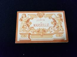 13 MARSEILLE Dépliant Mini Gravure Chateau If Port N D De La Garde Quai Cannebiere Préfecture Port Musée Lonchamps Palai - Tourism Brochures
