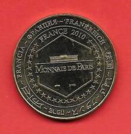 **  GOLFE DE PORTO ( CORSE )  2010  ** - Monnaie De Paris