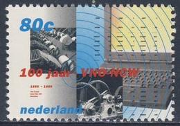 Nederland Netherlands Pays Bas 1999 Mi 1736 ** VNO-NCW - Victorian Machinery, Computer / Druckmaschine, Laptop - Computers