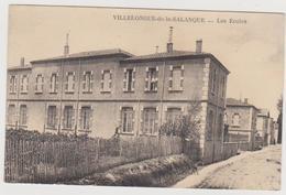 780 _ 66 - VILLELONGUE DE LA SALANQUE . LES ECOLES . SCANS RECTO VERSO - Frankrijk