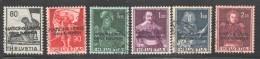 ONU Bureau Européen  1950  Sujets Historiques  SBK 12-7 Oblitérés - Officials