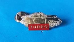 Pin's  M 6  TURBO PORSCHE - Porsche