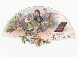 Chromo - Chocolat Suchard, Neuchâtel (Suisse) - Eventail - Suchard