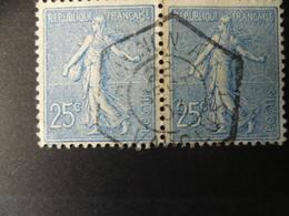 TIMBRE  SEMEUSE N° 132  OBLITERATION HEXAGONALE AVIGNON VAUCLUSE - 1903-60 Semeuse Lignée