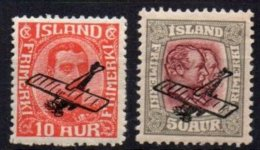 ISLANDE - Série Complète PA De 1928/9 TB - Poste Aérienne