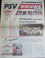 PROGRAMME PSV  V.  BENFICA 1998/1999 EUROPEAN CUP - Programs