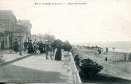 N°660 A -cpa Luc Sur Mer -digue Promenade- - Luc Sur Mer