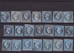 LOT DE 21 TIMBRES DE FRANCE   Oblitérés Avec Défaut . - Stamps