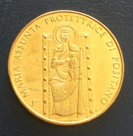 Italy, Positano, S. Maria, Souvenir Jeton - Other