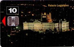 TARJETA TELEFONICA DE URUGUAY. 11b (PALACIO LEGISLATIVO) (283) - Uruguay
