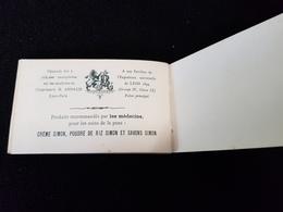 69 LYON PUB Crème Savon Savonnerie SIMON Mini Gravure PIANO ORGUES PROBST PLACE CARNOT IMP ARNAUD - Tourism Brochures