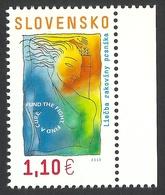 Slovakia, 1.10 E. 2013, Mi # 705, MNH - Slovakia