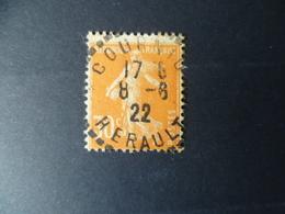 TIMBRE  SEMEUSE N° 141 OBLITERE - Marcophilie (Timbres Détachés)