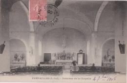 Bp - Cpa PREFAILLES - Intérieur De La Chapelle - Préfailles