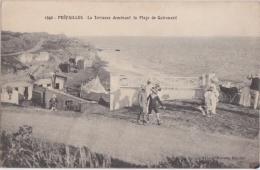 Bp - Cpa PREFAILLES - La Terrasse Dominant La Plage De Quirouard - Préfailles