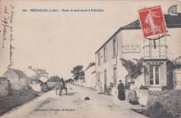 Bp - Cpa PREFAILLES - Route De Quirouard à Préfailles - Préfailles
