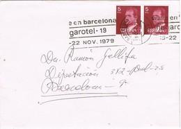 28730. Carta BARCELONA 1979. Rodillo Especial HOGAROTEL 79 - 1931-Hoy: 2ª República - ... Juan Carlos I