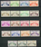 7134   GUADELOUPE  N° 178/96**  Série De Londres    1945      TTB - Unused Stamps