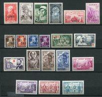 7135   ALGERIE   N° 308/24**  Année Complète     1954      TTB - Algérie (1924-1962)