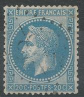 Lot N°42707  Variété/n°29B, Oblit GC -28- Aillevillers, Haute-Saône (69), Ind 5, Filet EST - 1863-1870 Napoleon III With Laurels