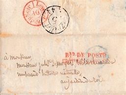 Lettre à M. Jules DESNOYERS, Bibliothécaire Muséum D'Histoire Naturelle  AU JARDIN DU ROI - Documents Historiques