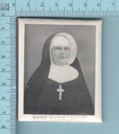 Petit Reliquaire Mural  - Relique Mère Marie Léonie - Image Pieuse Reliquaire , Holy Card, Santiti - Images Religieuses
