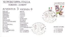 ITALY JUVENTUS  FDC   (MAGG180462) - UEFA European Championship