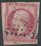 Lot N°42709  N°17B, Oblit Losange K De PARIS - 1853-1860 Napoléon III
